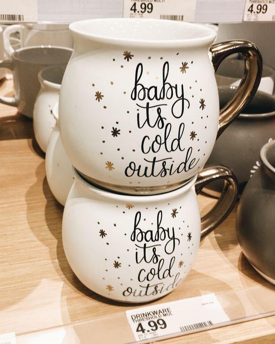 Target Christmas mugs
