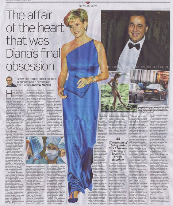 Hasnat khan article h r h princess diana dr hasnat Diana princess of wales affairs