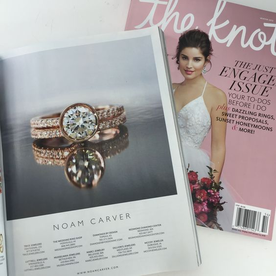 The Winter 2015 edition of The Knot is out and we can't get enough of Noam Carver's latest design! http://noamcarver.com/
