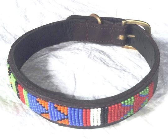 collier pour chien hippie