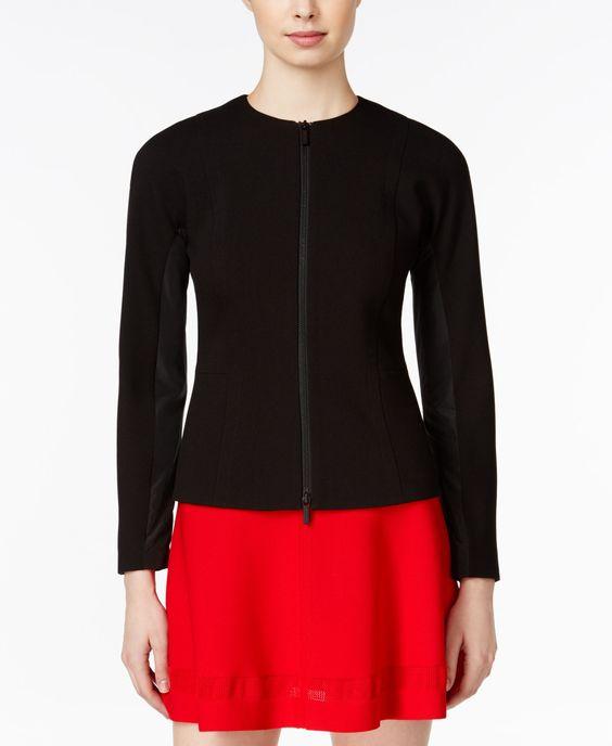 Armani Exchange Zip-Front Jacket