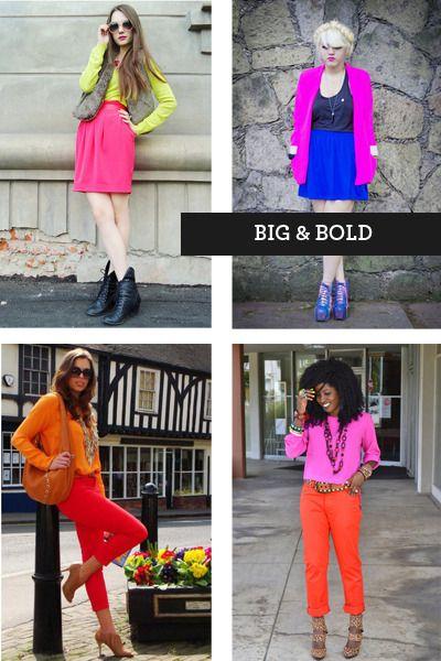neon street fashion. My spring 2012 inspiration ...