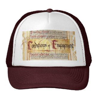 Conditions of Engagement Mesh Hat by thehobbit