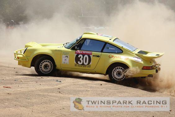 Porsche 911 rough rallye conditions