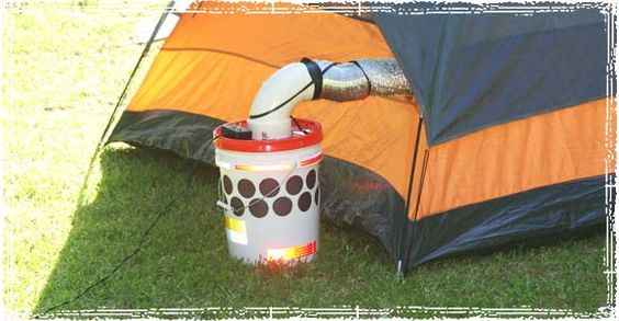DIY Solar Powered Air Cooler | If you are going camping, you can also add a 90 degree piece of PVC and dryer vent hose to isolate the air. #survivallife www.survivallife.com