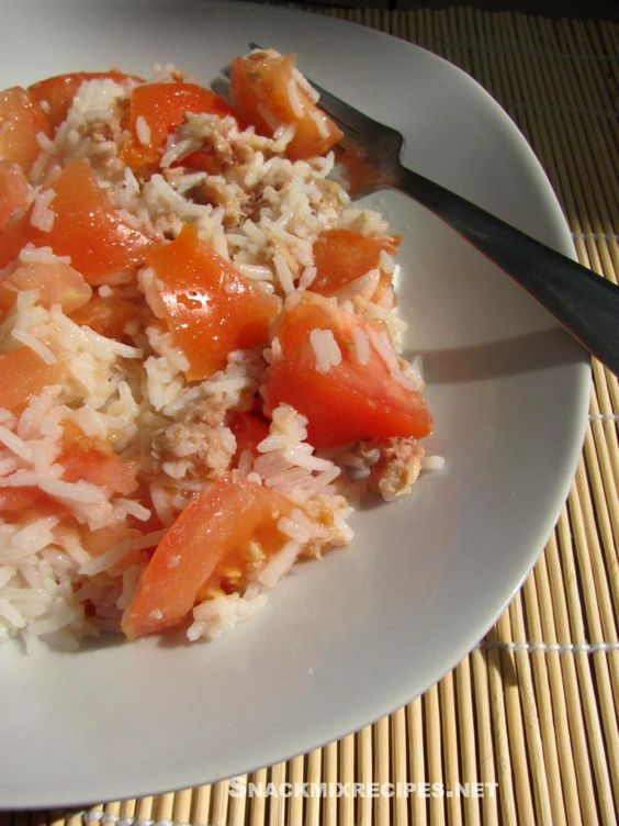 Basmati Rice Tuna Salad - You're gonna love this easy to make healthy and tasty salad. w/recipe :)