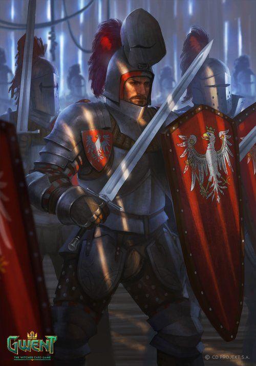 As Ilustracoes De Fantasia Para O Jogo Gwent The Witcher Card Game De Nemanja Stankovic Ilustracao De Fantasia Ilustracoes Medieval Rpg