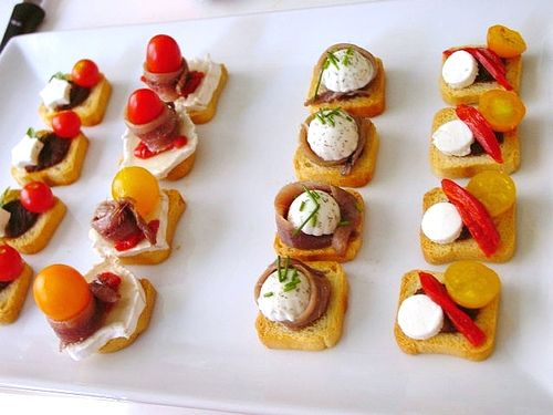 Image result for tapas and canapes