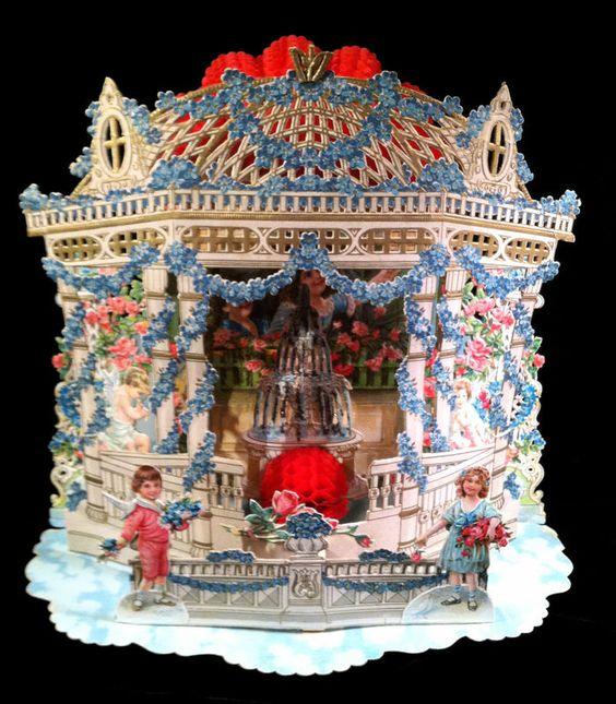 Wow! Victorian valentine...: