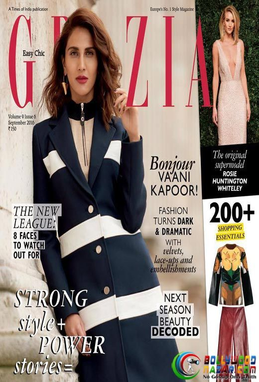 CHECK OUT VAANI KAPOOR ON THE LATEST GRAZIA COVER  #Bollywoodnazar #Vaanikapoor