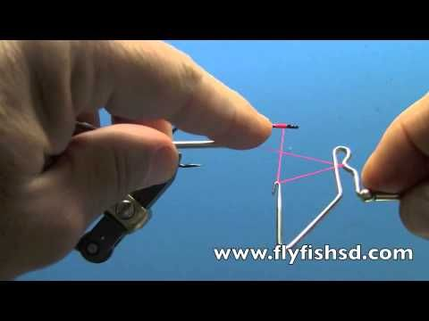 Fly Tying with Dave Gamet- Using a Rotating Whip Finisher - YouTube