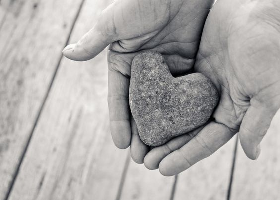 She Held Love in Her Hands 8x10 Print. $22.00, via Etsy.