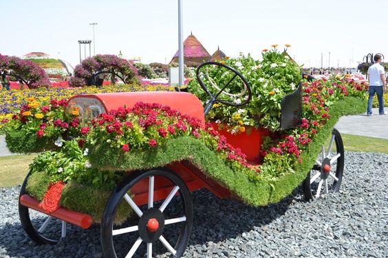 Dubai Miracle Garden, el jardín de flores más grande del mundo