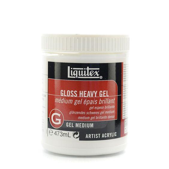 Reeves Liquitex Heavy Gloss Gel Medium-16 Ounces