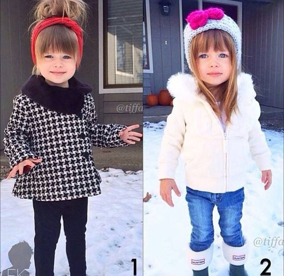 Little girl winter outfit