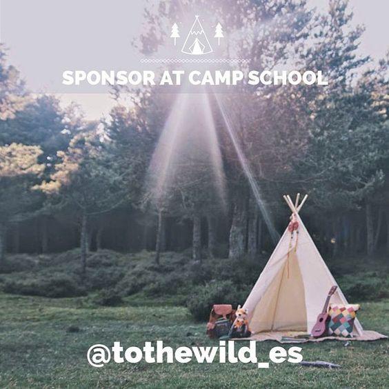 @tothewild_es sponsor en #campschoolLosjarales www.bodasdecuento.com
