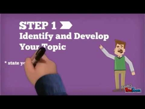 7 Steps For Writing A Perfect Research Paper Youtube Research Paper School Essay Writing
