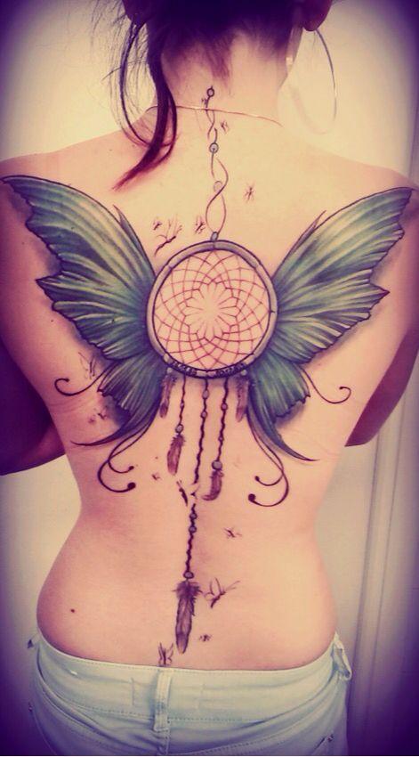 Dreamcatcher butterfly