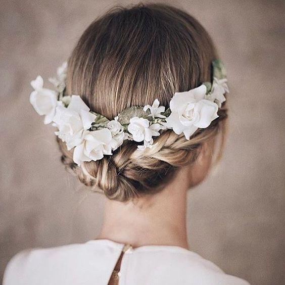 Inspiración para novias e invitadas 🌸 #invitadaperfecta #trenzas #braids #boda