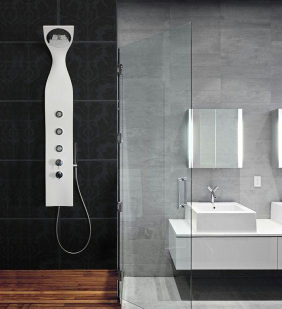 Badmöbel Set Duschpaneele Modern Badeinrichtung Awesome Ideas