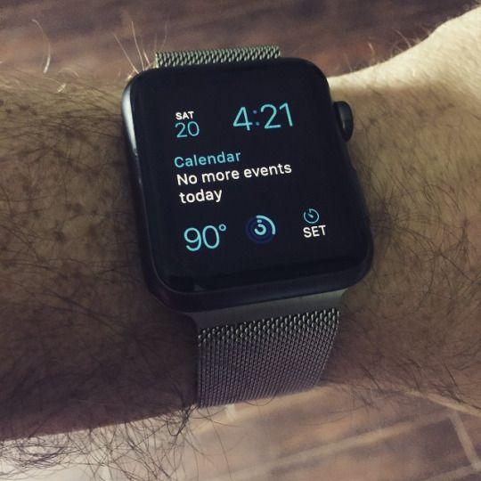 The Apple Watch: redundancy defined.