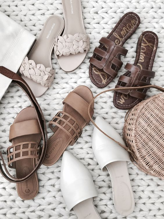 Summer sandal collection