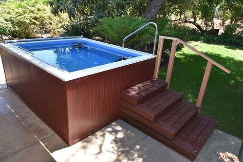 Backyard Pools Small Backyard Pool Backyard Swimming Pools Therapy Pools Endless Pool Backyard Pool