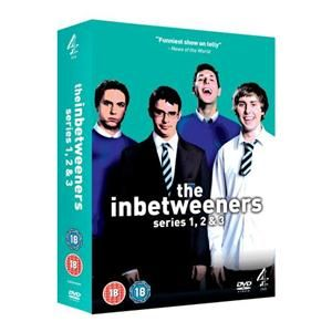 The Inbetweeners Series 1-3 - DVD