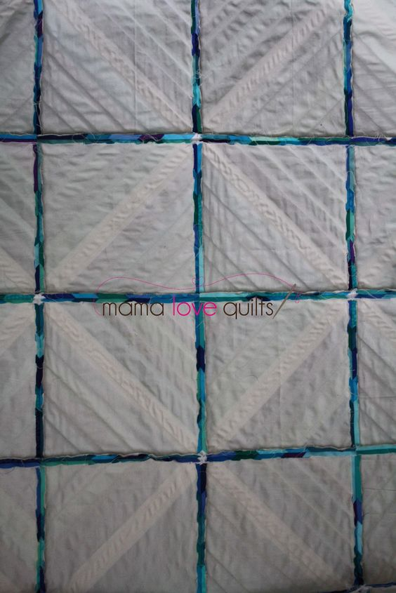 Mama Love Quilts: muslin instead of paper for paper piecing