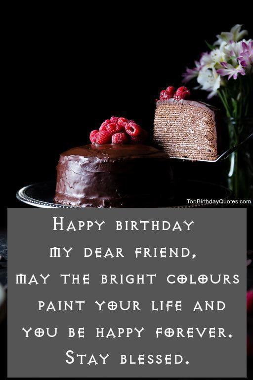 Birthday Wish For A Friend Fresh Top 80 Happy Birthday Wishes Quotes Messages Fo Happy Birthday Wishes Quotes Birthday Wishes Quotes Birthday Wishes For Friend