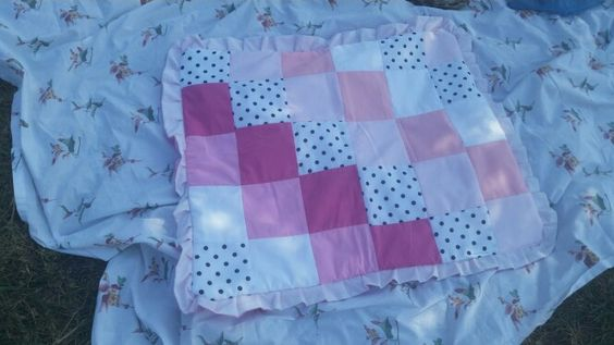 Small baby quilt $15.