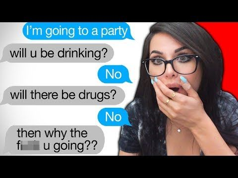 Funny Text From Parents Sssniperwolf Youtube With Images