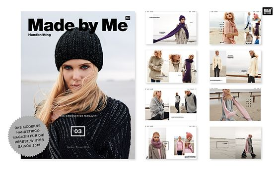 """Das Handstrick-Magazin """"Made by Me Handknitting No. 3"""" hält viele tolle…"""