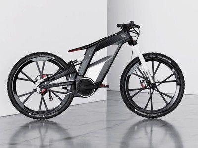 Beautiful and Powerful: Audi's E-Bike Wörthersee