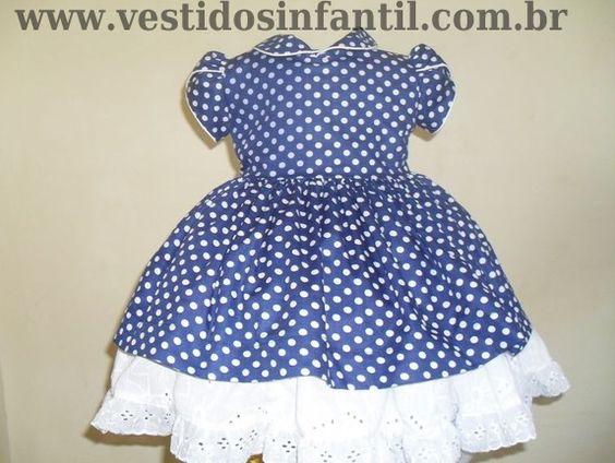 vestidos infantis.