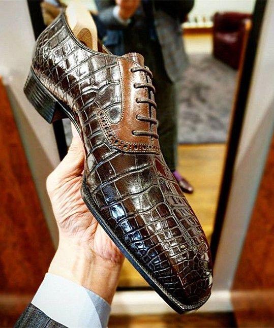 Dress shoes men, Alligator dress shoes