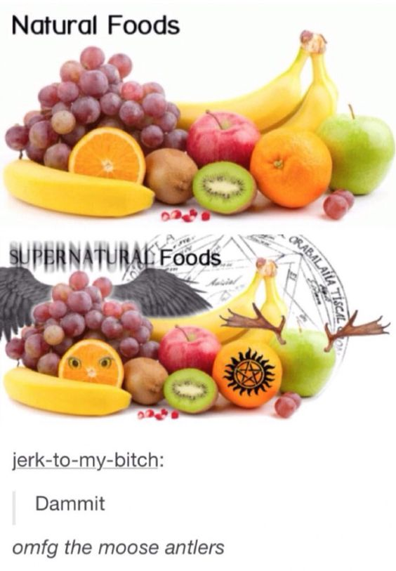 Supernatural foods lol