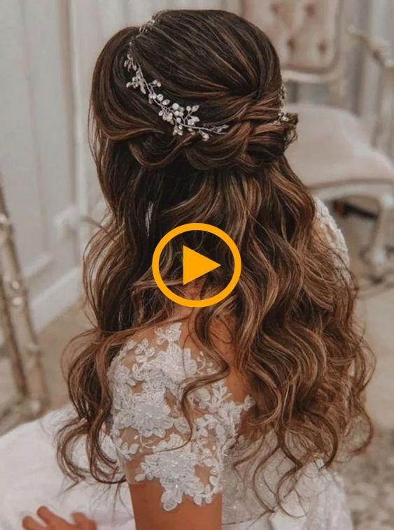 Creado Por Art Mmd En Instagram Olivia In 2021 Elegant Hairstyles Wedding Hairstyles For Long Hair Wedding Hairstyles Bridesmaid