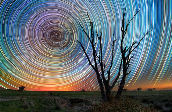 Startrails by Lincoln Harrison