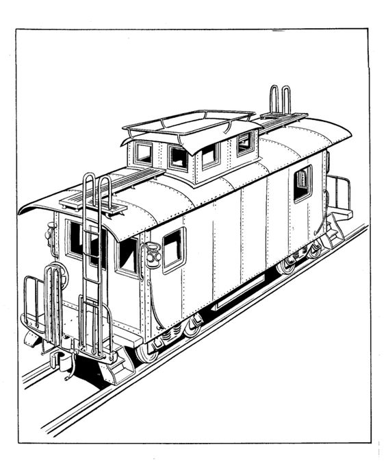 Toy Train Coloring Pages Are Fun And Teach The History Of Train