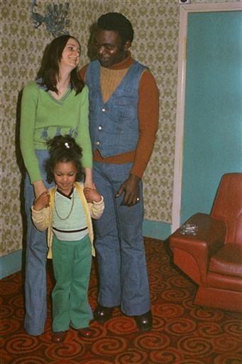 "Family, East End, London, England, United Kingdom, 1971-75, photograph by Bandele ""Tex"" Ajetunmobi."
