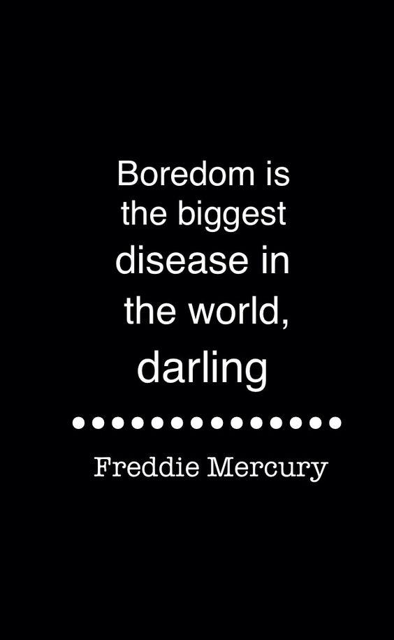 Amazing Freddie Mercury quote