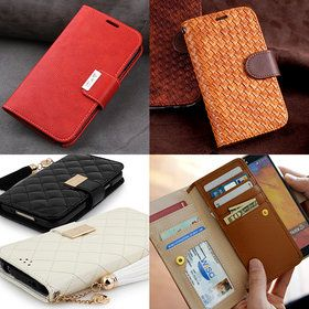 Gmarket - Smartphone case / diary / card slots / protection / magnetic closure.
