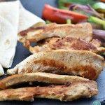 Chicken Fajitas Recipe from addapinch.com