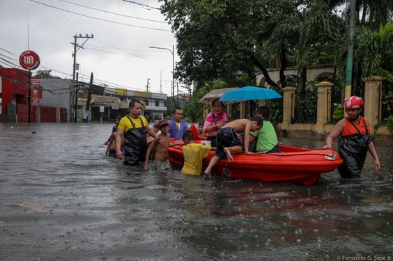 The Department of Social Welfare and Development (DSWD) is sending more than 7,000 food packs to Central Luzon and Calabarzon regions, to assist residents in towns flooded by the rains caused by ty...