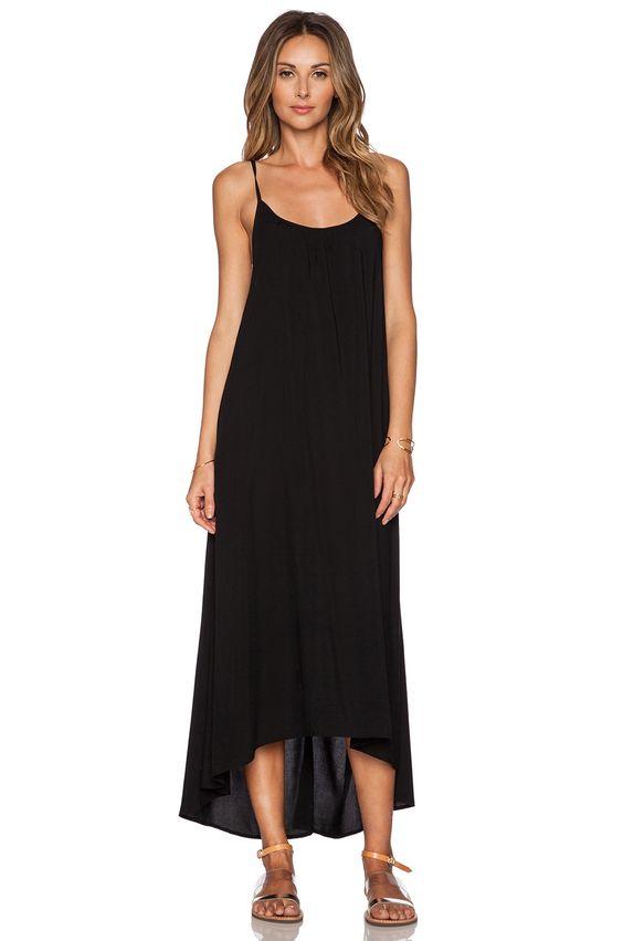 TAVIK Swimwear Stella Maxi Dress in Jet Black - baking stuff ...