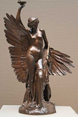 The Art Institute of Chicago: AIC: European Art [Hebe and the Eagle of Jupiter - by Francois Rude]