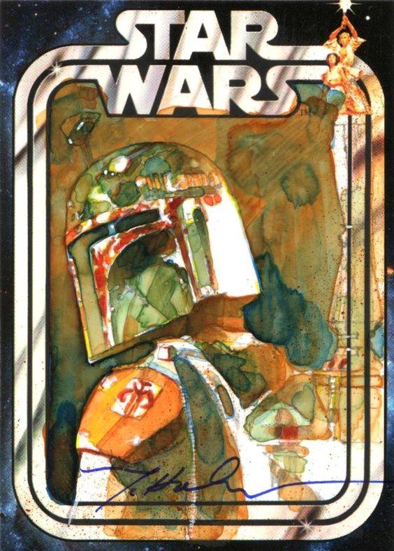 The Amazing STAR WARS Sketch Card Art of MarkMcHaley - News - GeekTyrant