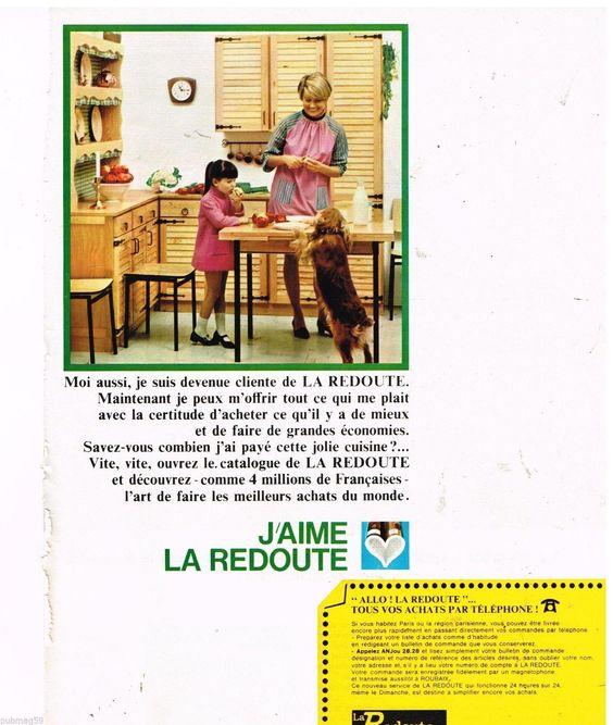 Publicité Advertising 1967 LA Redoute | eBay