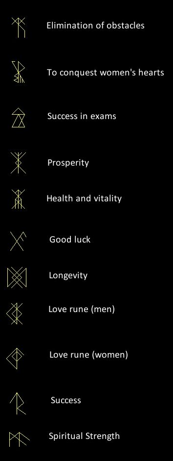 Runes as talismans- would love to get these but I first want to find out if they are legit